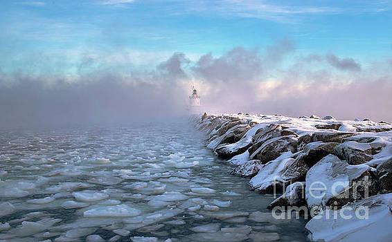 Spring Point Sea Smoke by Scott Thorp