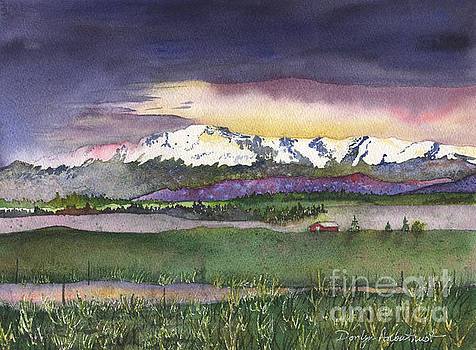 Spring Rain at Pikes Peak by Donlyn Arbuthnot