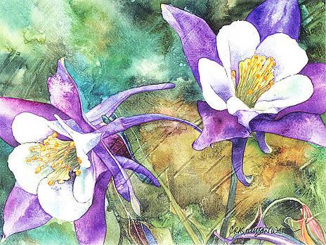 Spring Rain by Casey Rasmussen White