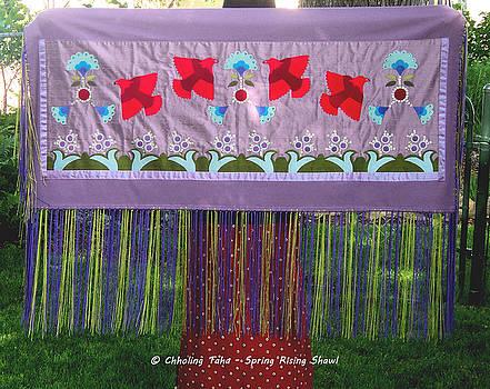Spring Rising by Chholing Taha