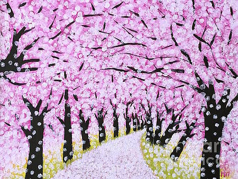 Spring road  by Wonju Hulse