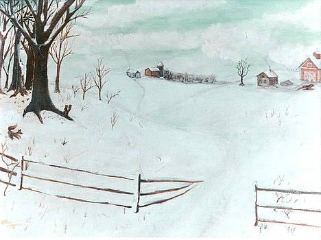 Spring Snow by Stan Layman