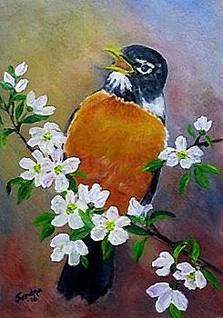 Spring Song by Sandra Maddox