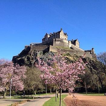 Spring Time In Edinburgh by Stefano Bagnasco
