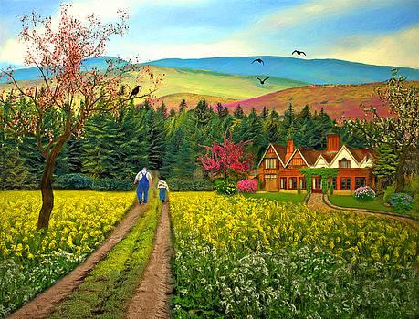 Nina Bradica - Spring Time in the Mountains