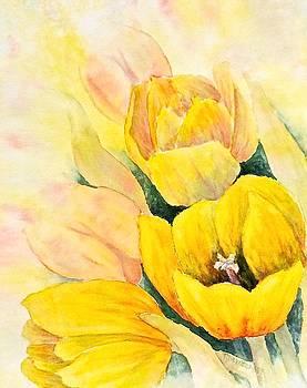 Spring Tulips by Carolyn Rosenberger