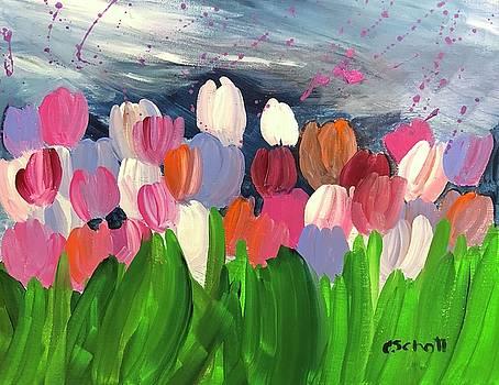 Spring Tulips by Christina Schott