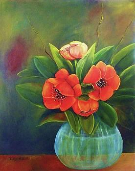 Spring Tulips by Jane Ricker