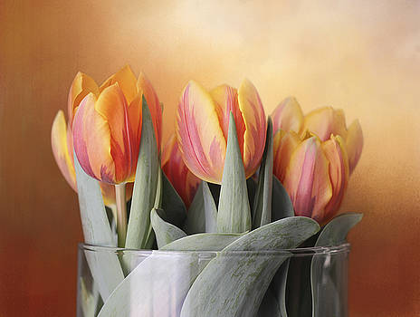 Spring Tulips by Kathleen Holley