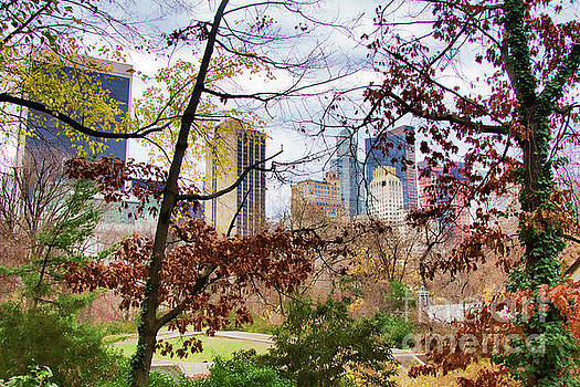 Chuck Kuhn - Spring Views from Central Park NY