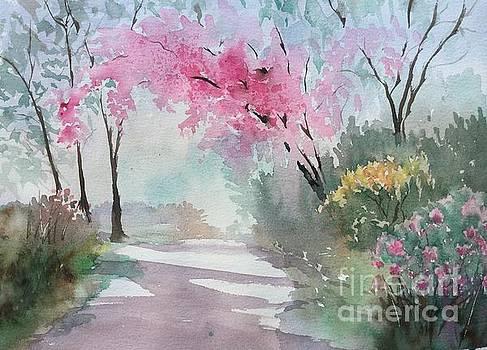 Spring Walk by Yohana Knobloch