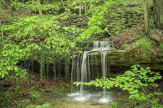 Spring Waterfall by Steven Bateson