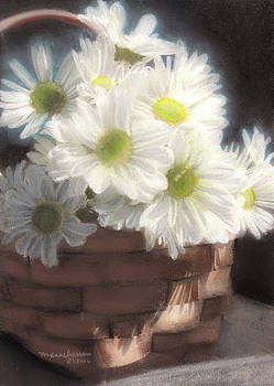 Spring White Daisies by Melissa Herrin