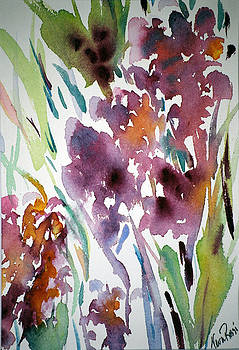 Spring Wildflowers I by Neva Rossi