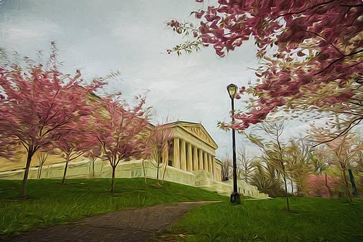 Chris Bordeleau - Springtime at the Buffalo History Museum - Artistic