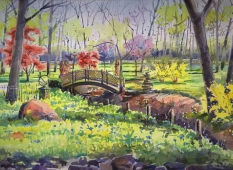 Springtime Backyard by Spencer Meagher