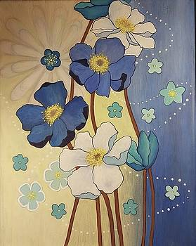 Springtime Flowers by Cynthia Silverman