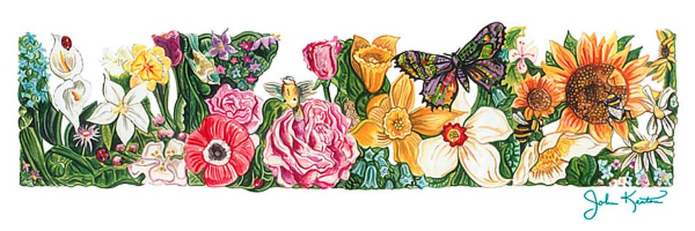 Springtime Flowers by John Keaton