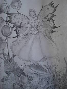 Springtime Garden Fairy by Tonya Hoffe