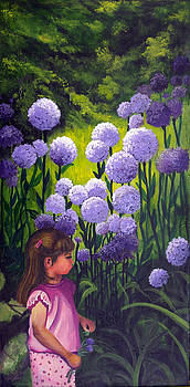 Springtime Girl by Bonnie Cook