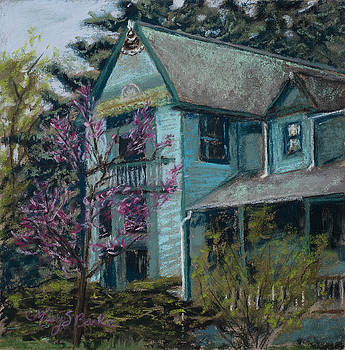 Mary Benke - Springtime in Old Town