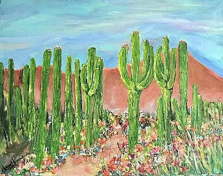 Springtime in the Desert by Sherry Harradence