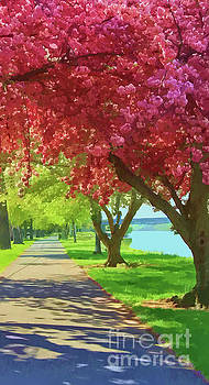 Springtime In The Park by Geoff Crego