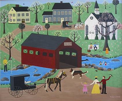 Springtime In Vermont by Susan Houghton Debus