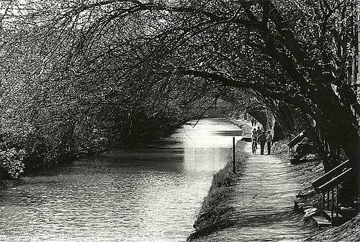 Springtime on the Canal by Llewellyn Berry