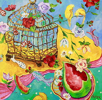 Springtime Romance by Sharon Furner