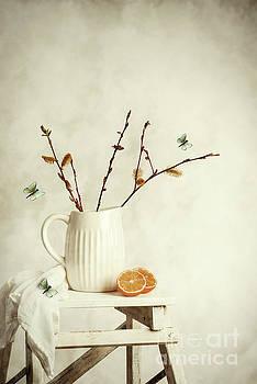 Springtime Still Life by Amanda Elwell