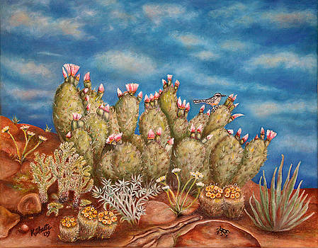 Springtime Succulence by Kathy Shute