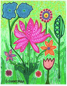 Springtime Welcome Redux by Susan Schanerman
