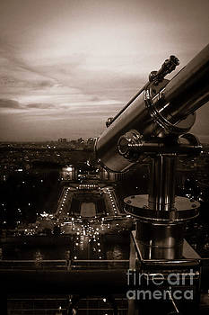Spyglass Over Paris Sepia by Marina McLain
