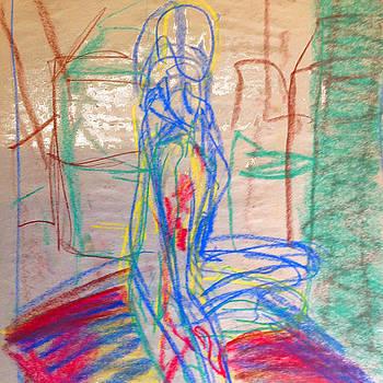 Sq nude 2 by Anne Winkler
