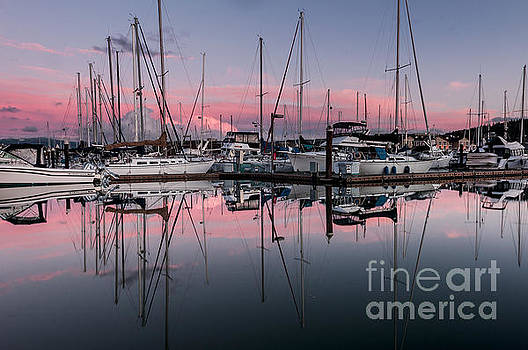 Paul Conrad - Squalicum Harbor Sunset