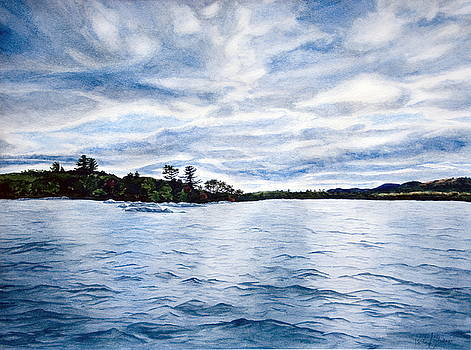 Squam Lake by Monika Degan