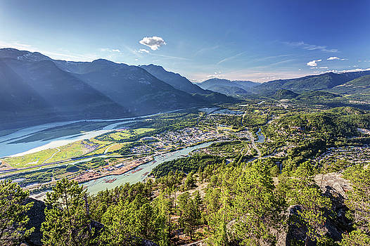 Squamish from the summit of the Chief by Pierre Leclerc Photography