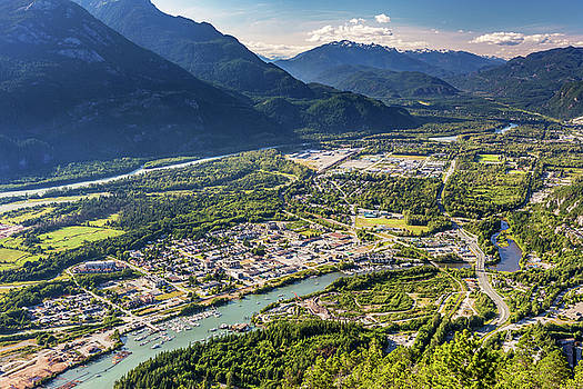 Squamish Town by Pierre Leclerc Photography