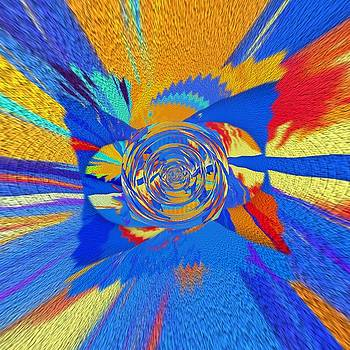 Square Rainbow by Halina Nechyporuk