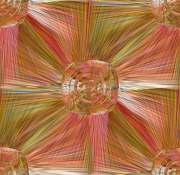 Square Rose by Halina Nechyporuk