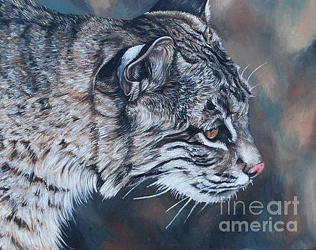 Squeakers The Bobcat by Rebecca Tiano