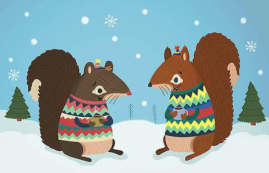 Squirrel Friends by Nicole Wilson