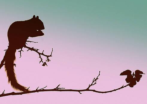 Squirrel On A Stick by Lori Pessin Lafargue
