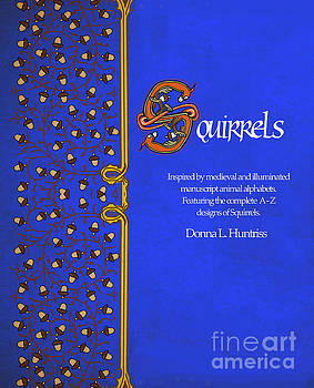 Squirrels Book Cover by Donna Huntriss