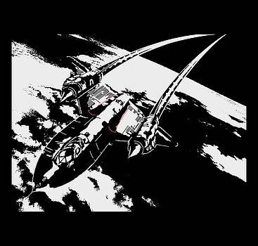 SR-71 Flying High by Ewan Tallentire