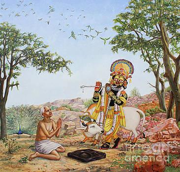 Sri Damodar Gifts Sanatana by Dominique Amendola