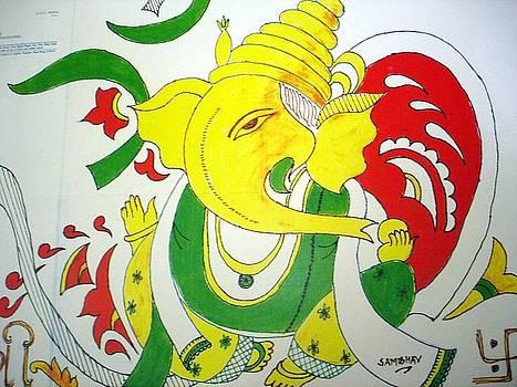 Sri Ganesh by Sunil Mehta