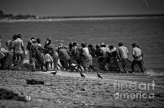 Sri Lankan Fishermen by Venura Herath