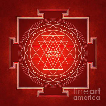 Sri Yantra - Artwork 10 by Dirk Czarnota